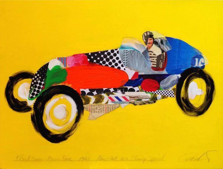 Indianapolis 500 / Floyd Davis 1941