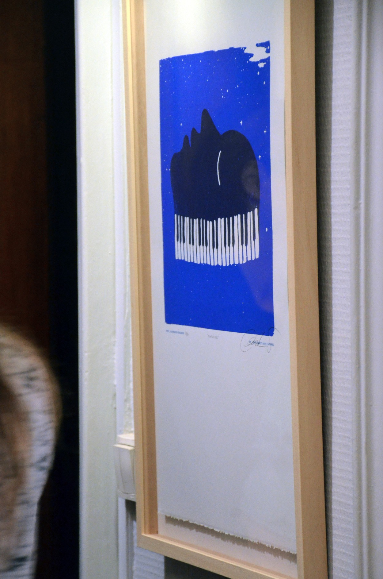 Pianolitudes (Sérigraphie)
